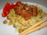 Dýně s rýží a tempehem recept
