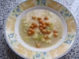 Polévka s pórkem a žampionovým sýrem recept