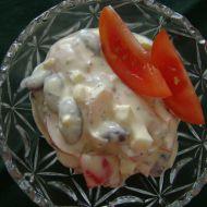 Fazolový salát s bazalkou recept