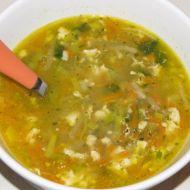 Zeleninová polévka s jíškou recept