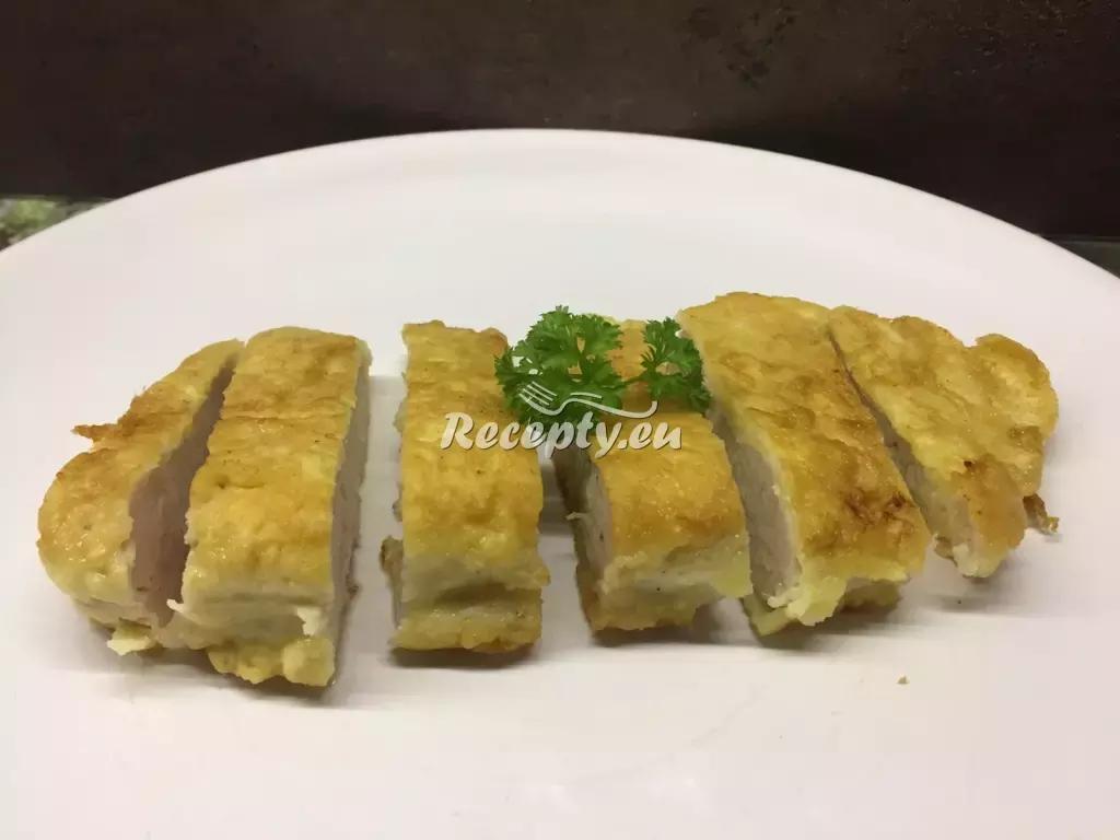 Kuřecí řízky v sýrovém závoji recept  drůbeží maso