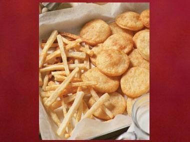 Sýrové sušenky/sláma