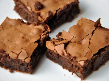 Moje čokoládové brownies