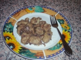 Chlupate noky s houbami recept