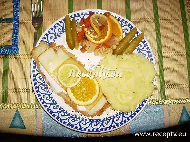 Smažený pangasius s jogurtem a sýrem recept  ryby