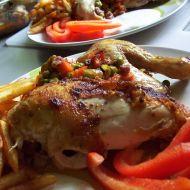 Kuře s nádivkou z uzeniny recept