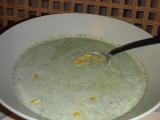 Mangoldový krém s kukuřicí recept