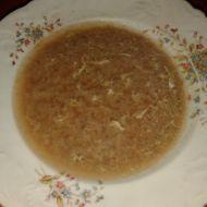 Kukuřičná polévka s rýží recept