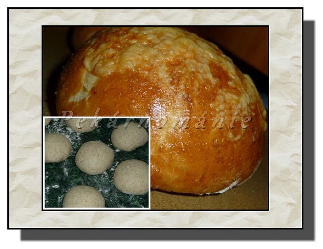 Bulky se sýrem a celozrnnou moukou recept