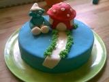 Šmoula dort recept