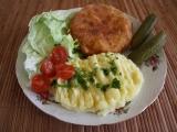 Smažený celer s nivou recept