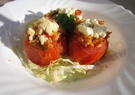 Zapečená plněná rajčata s balkánským sýrem recept