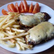 Hořčičné řízky se sýrem recept