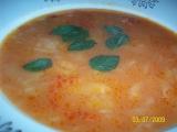 Rajčatová polévka se zelím recept