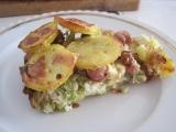 Zapékaná brokolice se smaženou cibulkou recept