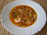 Uzená kuřecí česnečka se zeleninou recept