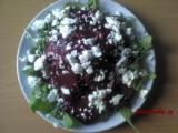 Salát z červené řepy se sýrem Feta recept