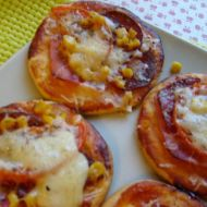 Mini pizzy recept