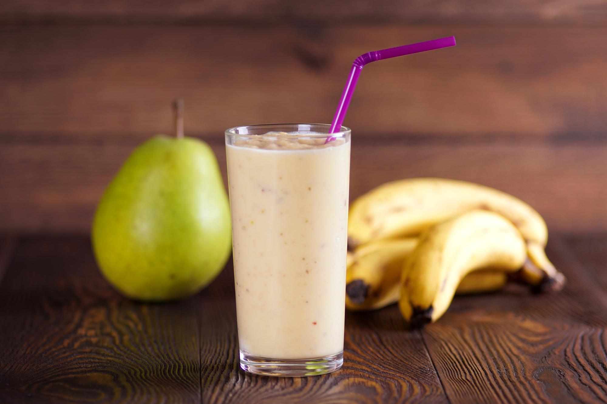 Mléčný koktejl s ovocem recept
