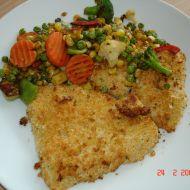 Ryba s petrželovou strouhankou recept