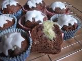 Banánové muffiny s bílou čokoládou recept