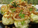 Zelné knedlíky se špekem a cibulkou recept