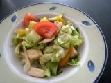 Salát s kozím sýrem recept