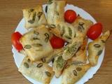 Listové šátečky s brokolicí recept