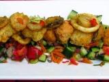Chobotnice, krevety, mušle recept