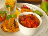 Vegetariánské chilli s pečenými batáty recept