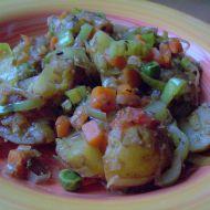 Zeleninový mix s brambory recept