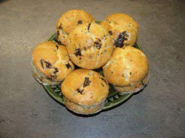 Muffinky s čokoškou