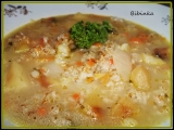 Syrovátková polévka se zeleninou a ovesnými vločkami recept ...