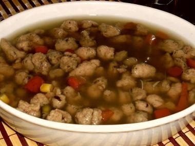 Játrové knedlíčky do polévek