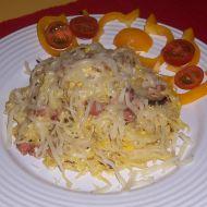 Špagety s vejci recept
