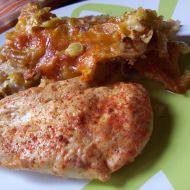 Bramborový pekáček s kuřecím recept