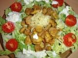 Sojové maso se zeleninovým salátem recept