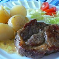 Steak s novým bramborem recept