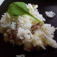 Zapékaná rýže s tuňákem recept