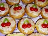 Třešničkové muffinky recept
