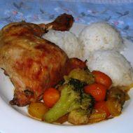 Letní kuře na zelenině recept
