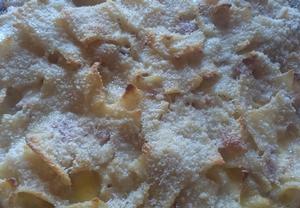 Zapečené těstoviny se slaninou a smetanou