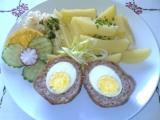 Smažená pštrosí vejce recept