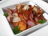 Pečená cibule tandoori recept