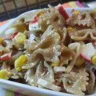 Mašličkový surimi salát s kukuřicí recept