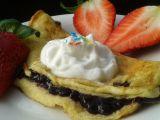 Blesková sladká omeleta se šlehačkou recept