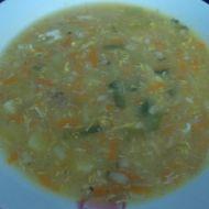 Zeleninová polévka s pórkem a bramborem recept
