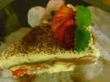 Dvoubarevný studený dort recept