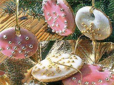 Medové vánoční koláčky