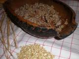 Pohankový kuba s ředkvičkami recept